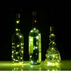 2 светодиодный м 20 светодиодный LED s мини светодиодные праздничные гирлянды микро водостойкая лампа крытый свадебный свет для украшения