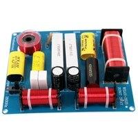 2Pcs 300W 3 웨이 트레블 중저음 스피커 주파수 분배기 크로스 오버 필터