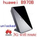 Desbloqueado huawei b970b 4g 3g hsdpa roteador sem fio 3g router wi-fi 3g MIFI dongle HSUPA WCDMA CPE ROTEADOR CARRO pk b683 b970 b681