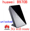 Desbloqueado huawei b970b 4g 3g router inalámbrico hsdpa 3g router wifi 3g MIFI WCDMA HSUPA dongle ROUTER CPE COCHE pk b683 b970 b681