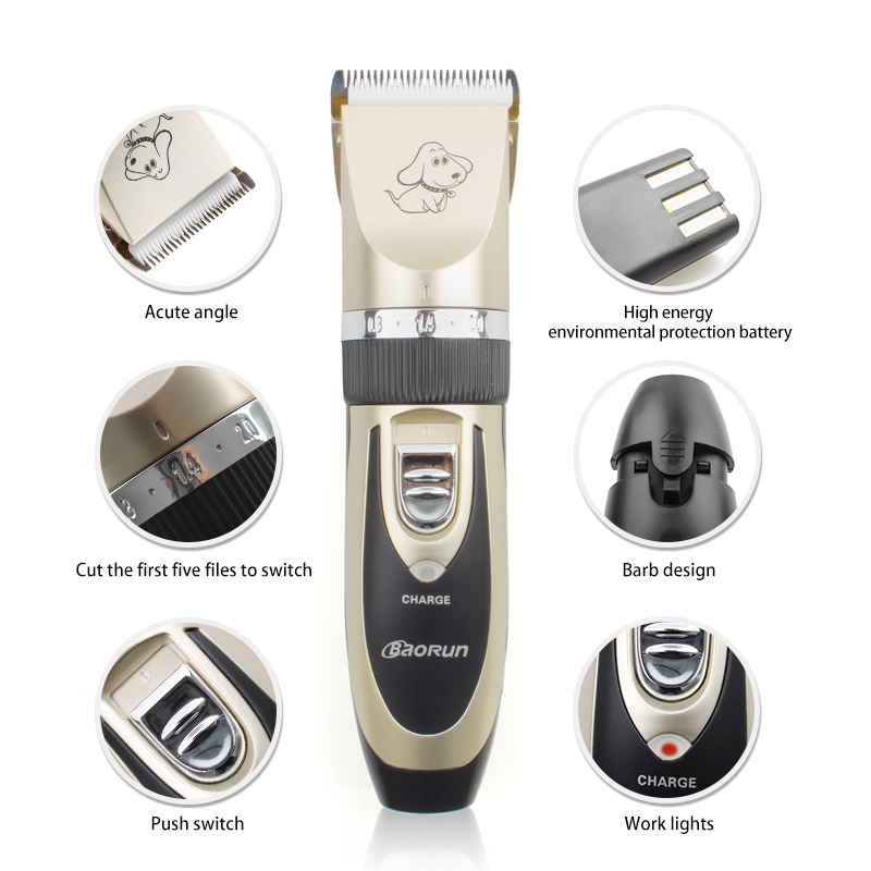 Professional Rechargeable Dog Grooming Kit