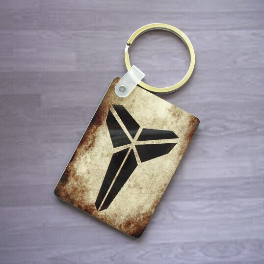 b2d1059afd43 Creative Wood Kobe Bryant Photo 24 Jersey Number Keychain Basketball Fans  Souvenirs Bryant Flag Keyring-in Key Chains from Jewelry   Accessories on  ...