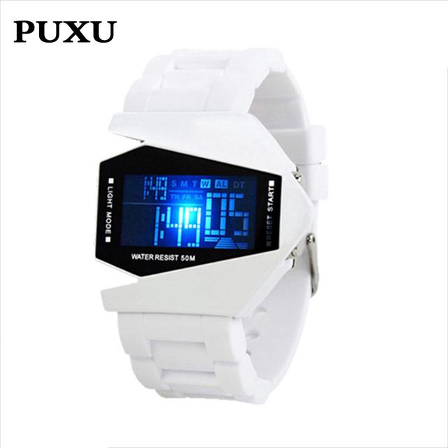 Children Safety Wristbands Boy life Waterproof clock Men Women Fashion Luminous Electronic Student movement WristWatches Gift