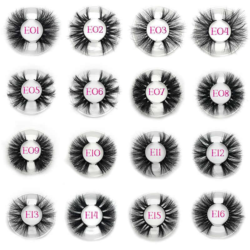 Mikiwi 3D норковые накладные ресницы крест-накрест волнистый крест пушистые 25 мм Накладные ресницы ручной работы инструменты для макияжа глаз