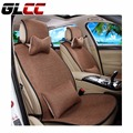 New design linen car seat cover set universal Car-covers fit for most of 5 seats car protector Automobiles Seat Covers