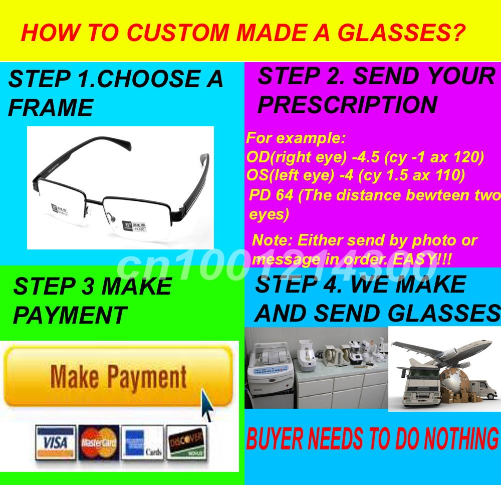 CUSTOM MADE GLASSES copy
