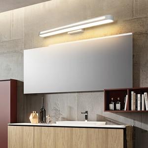 Image 5 - Современные светодиодсветодиодный настенные светильники, освещение для ванной комнаты, зеркальный водонепроницаемый акриловый настенный светильник яркостью 400 700, освещение для ванной комнаты
