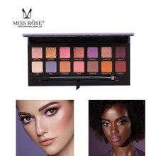Miss Eye макияж мягкая Призма Gleam светящаяся палитра лицо хайлайтер бронзер сладкий 14 Цвет Тени для век Палитра Комплект свечения