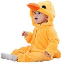 Четыре цвета стиль фланель восхождение одежды новорожденный купальник ползунки детская одежда милые панды мультфильм пальто