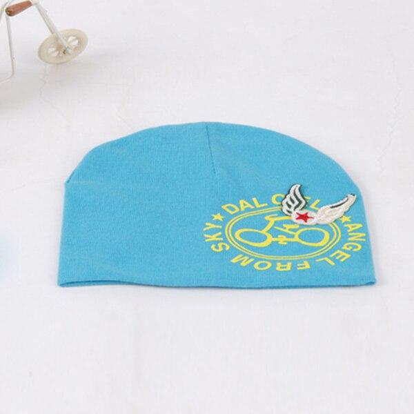 0-3Y Children Girls Kids Infants Baby Beanie Beret Hat Bike Print Wing Cap