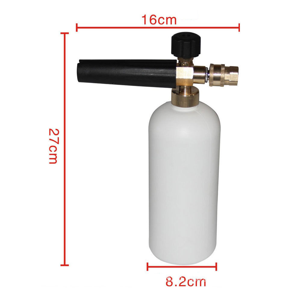 BBQ@FUKA 1pc Car styling 1L Adjustable Exterior Snow Foam Lance bottle Cannon High Pressure Washer Gun Jet for car tool kits