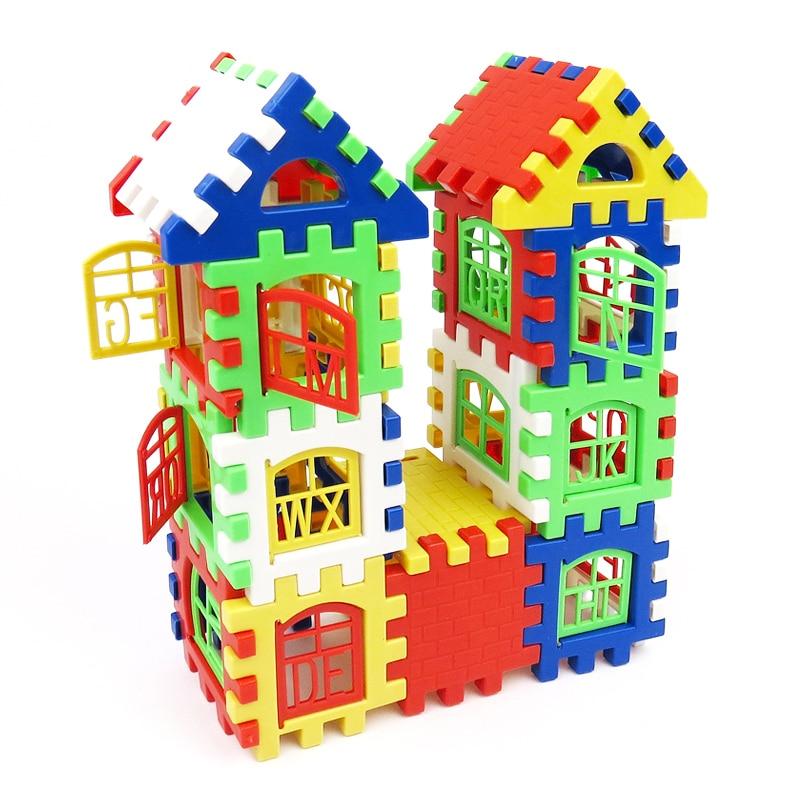 Building Toys For Babies : Pcs set baby kids house building blocks construction