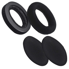 Replacement Velvet Earpad for Sennheiser HD545, HD565, HD580, HD600, HD650 Headphone Cushion Ear Cover Repair Parts Sh#