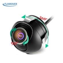 Impermeable Mini Coche de Gran Angular de 360 HD CCD de Imagen Normal Convertir la Línea Inversa de Copia de seguridad Cámara de Visión trasera Con la Imagen de Espejo cámara