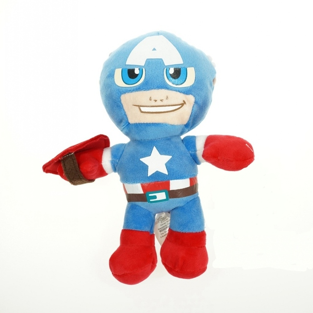 4 Styles Avengers Hulk Plush Dolls Superheros Captain America Iron Man Thor Hulk  Stuffed Dolls Children Soft Toys 9