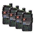 4 PCS camuflagem BAOFENG UV-5RE Novo Dual Band Rádio em Dois Sentidos Handheld 136-174/400-520 MHz 128 canais walkie talkie