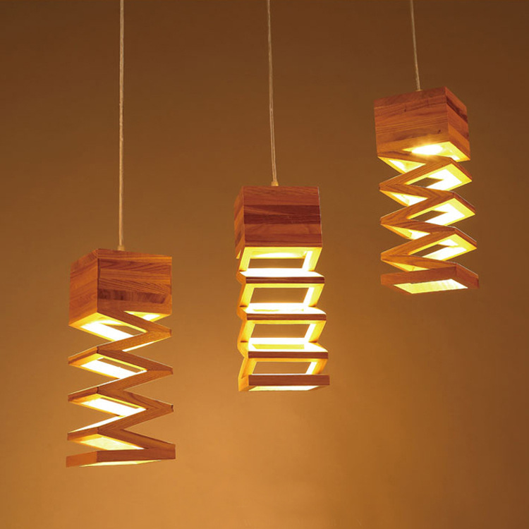 Us 68 2 38 Off Japanese Style Delicate Crafts Wooden Frame Tatami Led Pendant Lights Luminarias Para Sala Hand Lamp In Pendant Lights From Lights