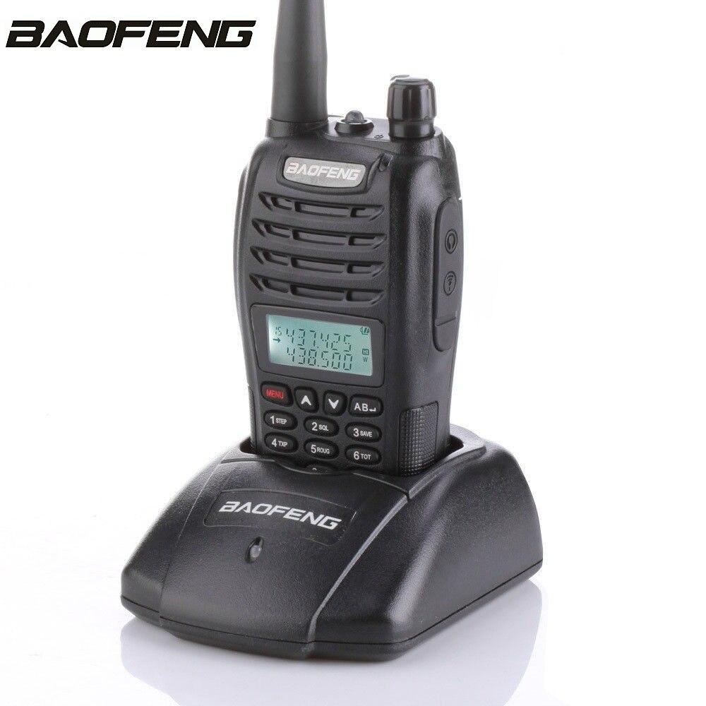 Baofeng UV B6 Ham Two Way Radio Dual Band Dual Display Dual Standby 5W Transmitter Power Interphone & PTT Headset Walkie Talkie