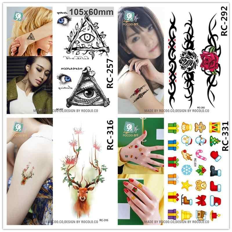 Хэллоуин водонепроницаемый временные татуировки для мужчин и женщин личности 3d сексуальный Единорог дизайнерский тату-стикер оптовая продажа RC2245