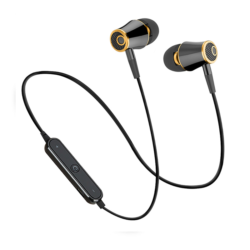 Teamyo Sport Bluetooth Headphones Wireless Earphones Running Headset Stereo Super Bass Earbuds Sweatproof With Mic for iphone