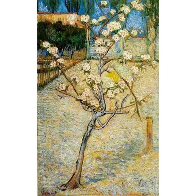 handgeschilderde hoge kwaliteit vincent van gogh abstract bloeiende peer boom olieverf canvas slaapkamer hal fijne art