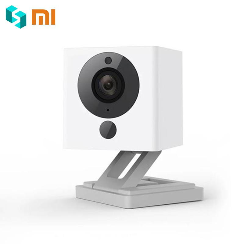 Original Xiaomi Mijia CCTV Xiaofang Digital Zoom Smart Camera IP 110 Degree F2.0 8X 1080P WIFI Wireless Control Cam Night Vision
