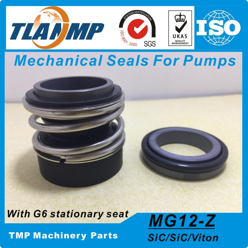 MG12 43 G6 MG12 43 Z Burgmann Mechanical Seals for Water Pumps with G6 Stationary Seat