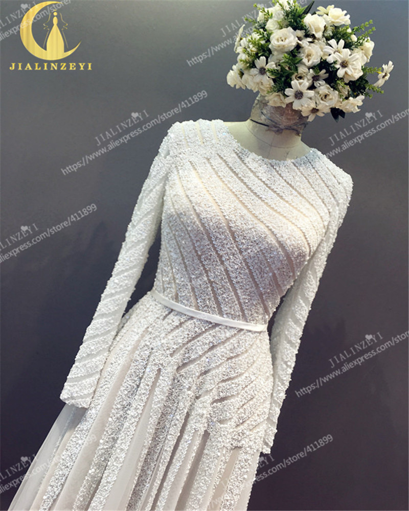 Ρήνου πραγματικό δείγμα μακρύ μανίκι - Ειδικές φορέματα περίπτωσης - Φωτογραφία 3