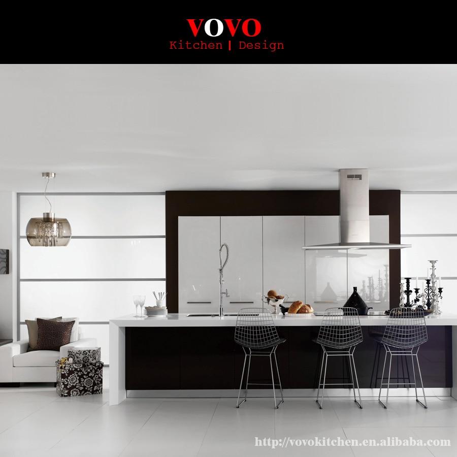 Modern European DIY Kitchen Cabinet Design From Guangdong