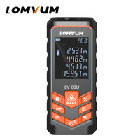 LOMVUM LV 66U Laser Range Finder Auto Level Distance Meter Electronic Analysis Measuring Instrument Rangefinder 40m 120M