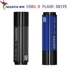 Оригинальный ADATA U реальная емкость диска 16 Гб оперативной памяти, 32 Гб встроенной памяти, 64 ГБ USB 3,0 Высокоскоростная Флешка карта памяти Флешка USB3.0 флеш-диск USB Стик