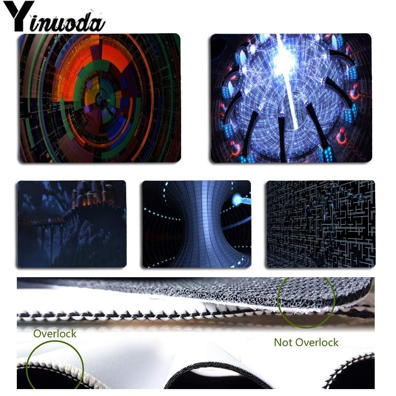 Yinuoda New Designs Future technology Customized laptop Gaming mouse pad Size for 18x22cm 25x29cm Small Mousepad ...