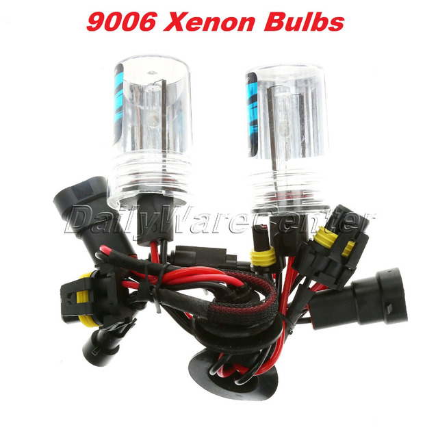 1Pair 35W 9006 Car HID Xenon Replacement Bulbs Headlight Lamp Auto LED Lights Source 3000/4300/5000/6000/8000/12000K Car  Care