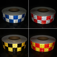 5cm width Car Reflective Material Tape Sticker Automobile Motorcycles Safety Warning Film Stickers