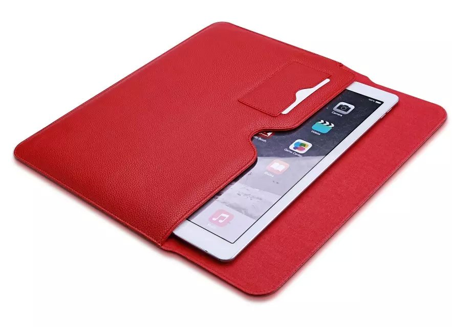 Luxury Ultra Slim Business Book Flip Pouch Bag Case Leather Smart ...