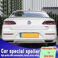 Новый дизайн и высокое качество 2018 2019 для Volkswagen CC задний багажник крылья спойлер от праймера краска черный белый цвет CC спойлеры