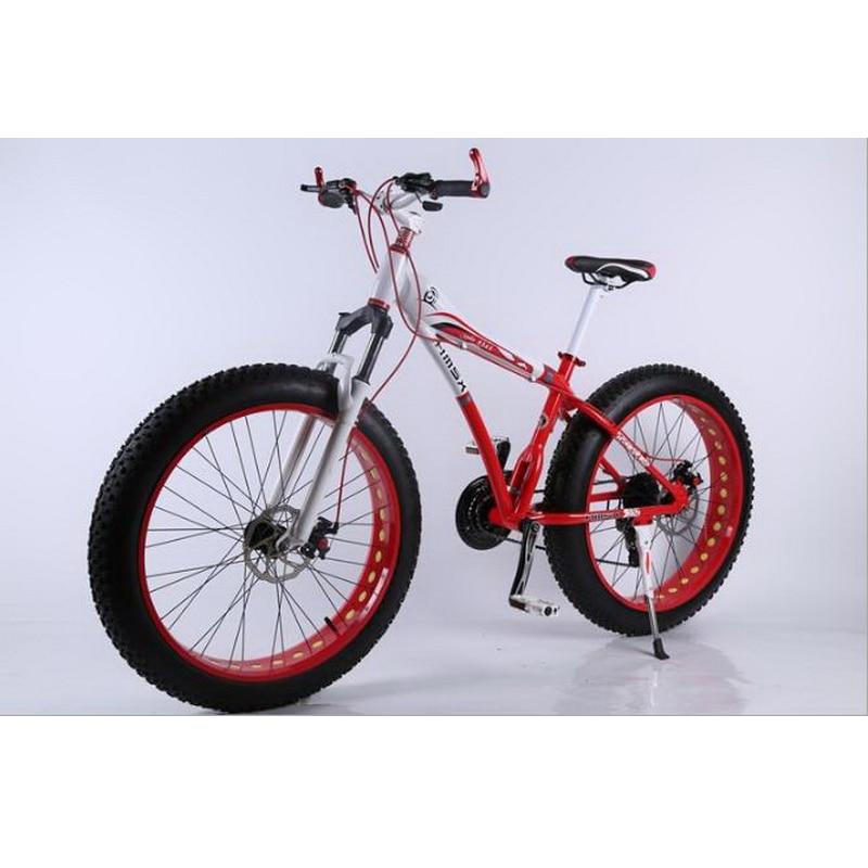 al473/4.0 Ultra-wide tires / beach snow bike / aluminum mountain mountain bike / variable speed disc brake / mountain bike