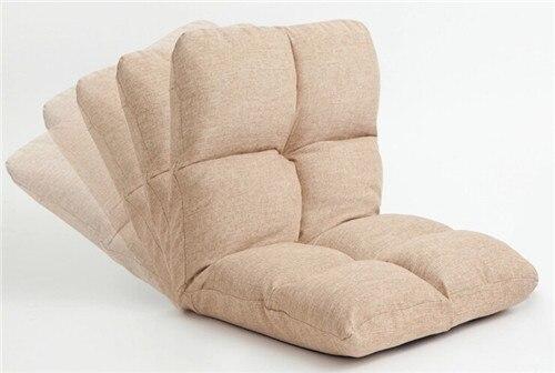 memory foam folding chair design khaki color upholstered