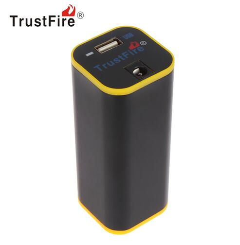 TrustFire E01 Portable Rechargeable Waterproof <font><b>4</b></font> x <font><b>18650</b></font> Power Bank <font><b>Powerbank</b></font> USB Charger for MP3 MP4 Mobile Cell Phone image