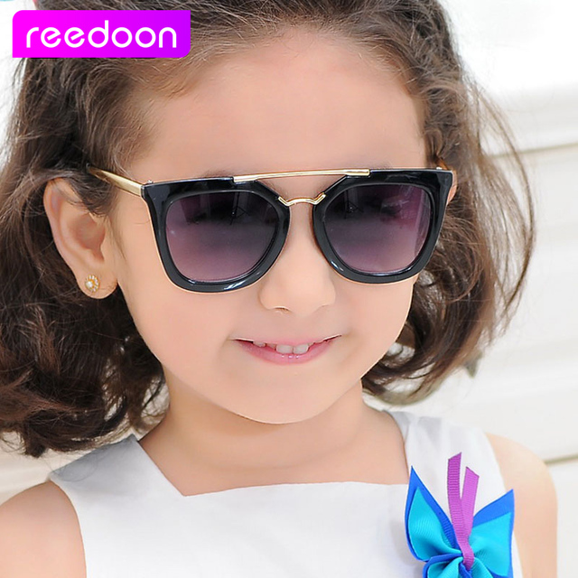 6347a2a0a1c 2016 New Fashion Children Sunglasses Boys Girls Kids Baby Child Sun Glasses  Goggles UV400 mirror glasses Wholesale Price 925K