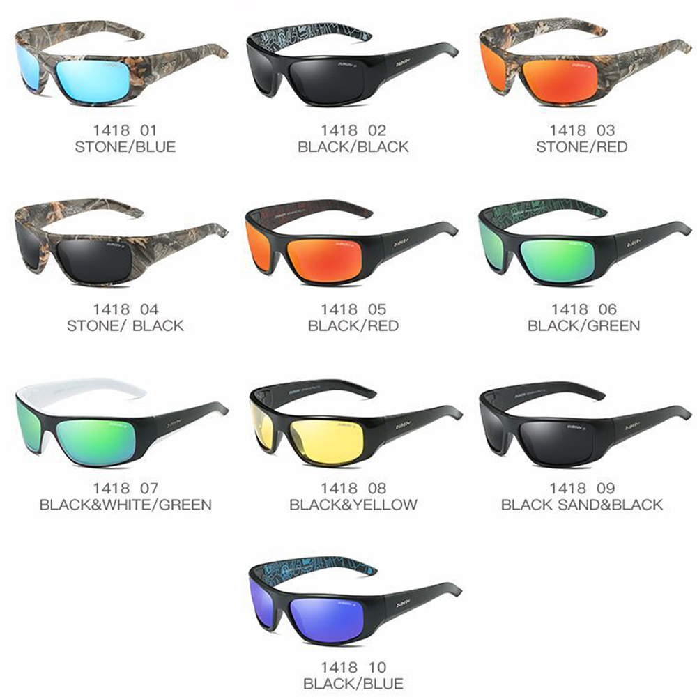 Men's Accessories DUBERY Men Sport Polarized Sunglasses Outdoor Riding Fishing Goggles Glasses New Sunglasses & Sunglasses Accessories