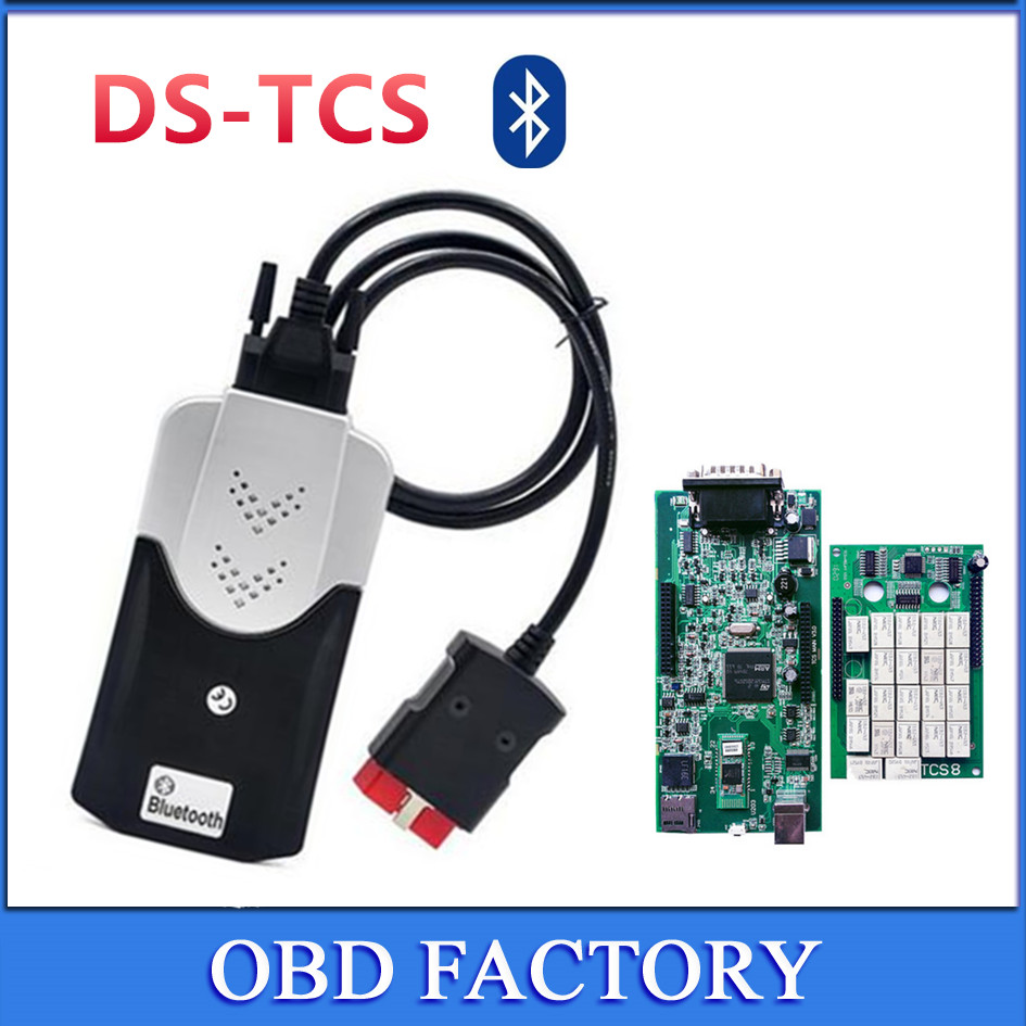 New double green pcb nec relays 2015R3/2014R3 KEYGEN Vci TCS CDP Pro Diagnostic tool for Auto Trucks/Cars OBD2 Scanner Bluetooth головка торцевая ударная