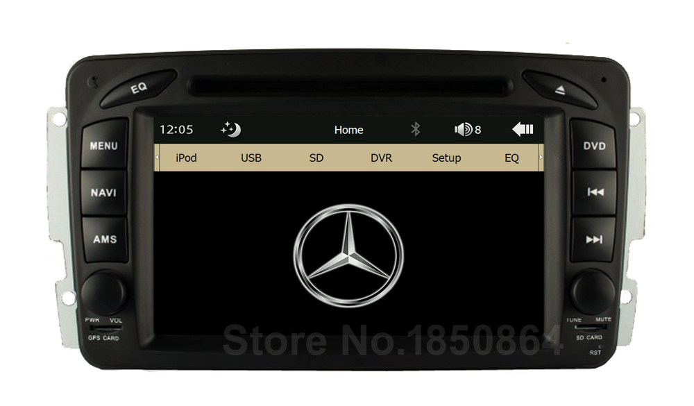 Original UI Car DVD Radio Player GPS for Mercedes Benz W203 Viano Vito W639 W638 W168