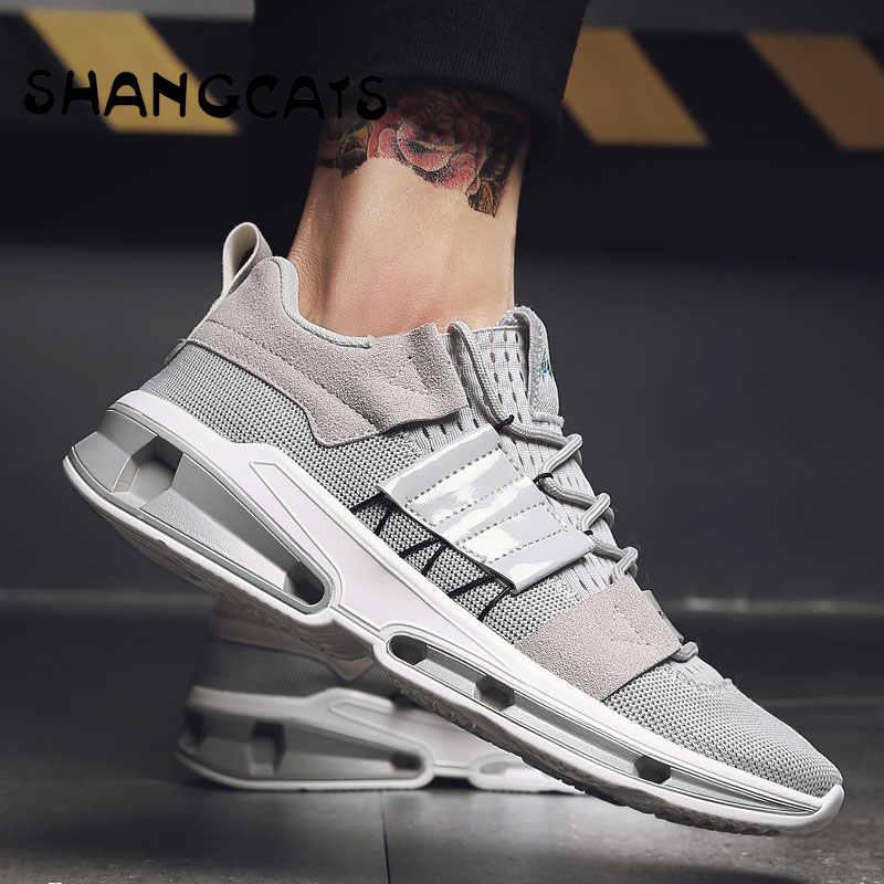 bc04e7c8e2cc ... Модные мужские кроссовки для молодых Для мужчин кроссовки дизайнеров  Обувь zapatillas hombre Повседневное Moda обувь Для