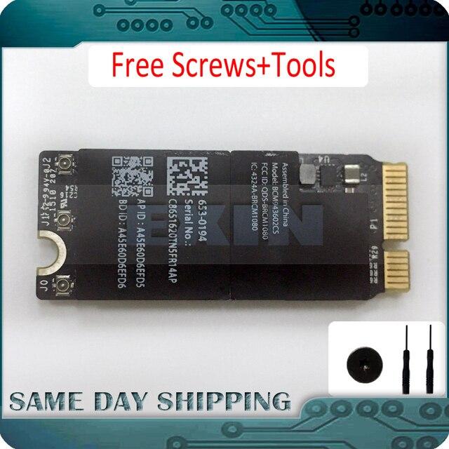 NEW Broadcom BCM943602CS 1750Mbps 802.11AC Adattatore WiFi con Bluetooth 4.0 BCM43602CS A1425 A1502 A1398 WIFI SCHEDA di rete WLAN