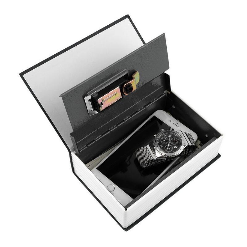 Safe Box Dictionary Secret Book Money Hidden Secret Security Safe Lock Cash Money Coin Storage Jewellery Password Locker S Size