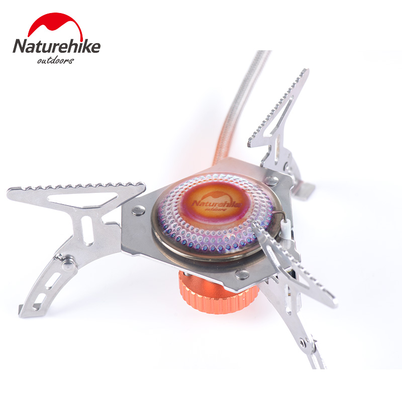 Naturehike Picnic Gas Stove Windproof Split type Burner Outdoor Camping Folding Cooking Stove NH15L399 T
