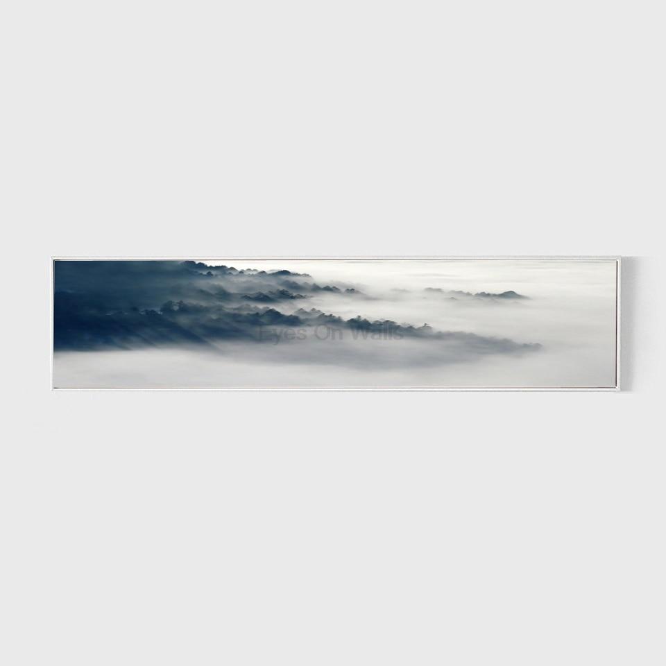 No Frame Landscape Poster Nordic Art Print Scandinavian Canvas - Home Decor - Photo 2