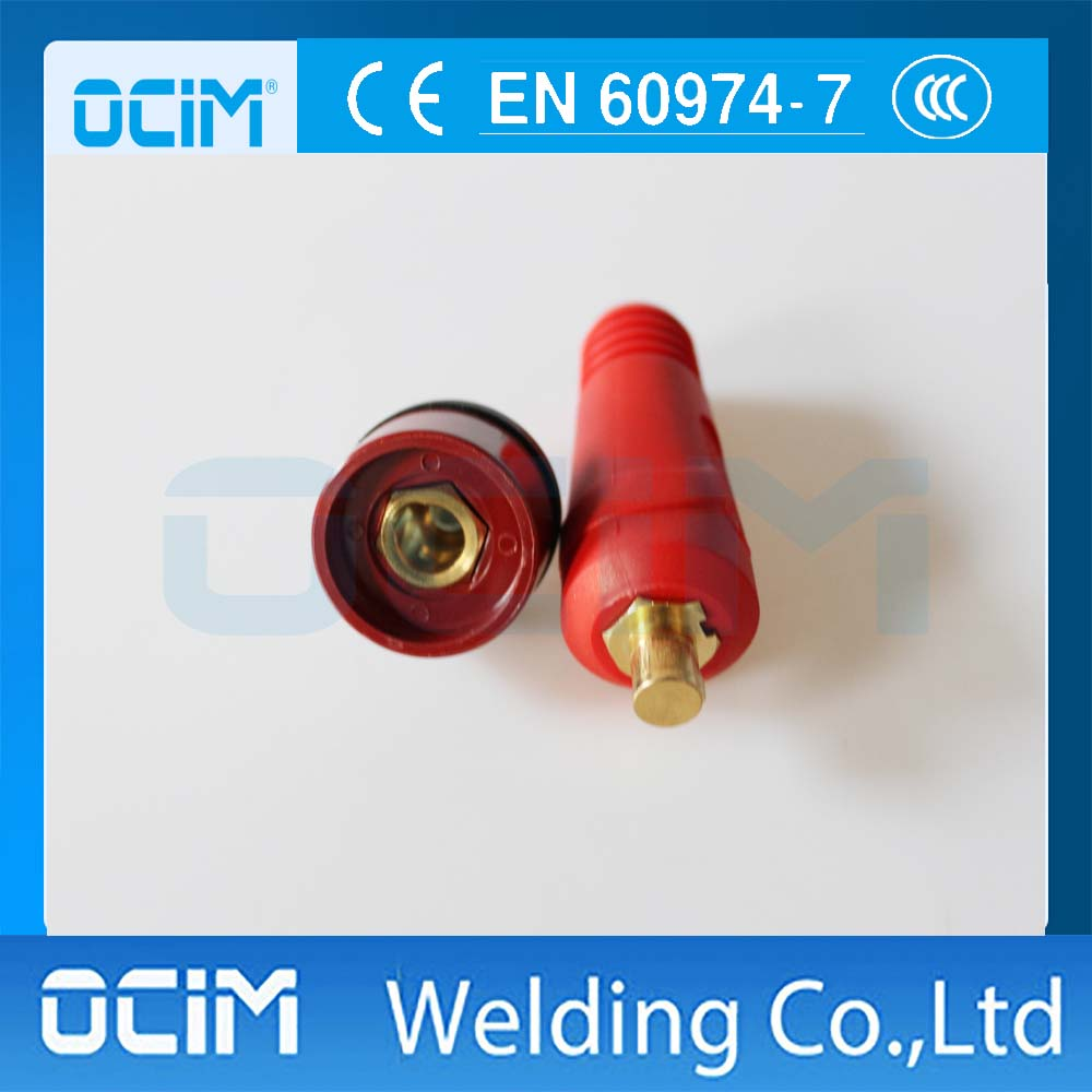 Socket for DKJ10-25 /& DKZ10-25 Dinse-Style Quick Fitting Cable Connector-Plug