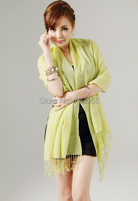 new arrival solid 100% wool   wrap   poncho   scarf     wrap   shawl womens Fashion factory sale 180*70cm #3789